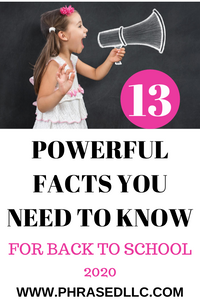 Feeling unsure about Back to School 2020. Use these 13 powerful facts to help as you make the best decision for your family.