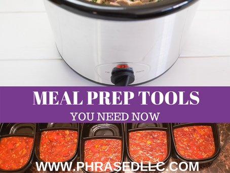 9 Meal Prep Tools You Need to be Successful Now