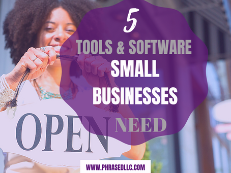 The 5 Small Business Tools and Software You Need to Succeed Now