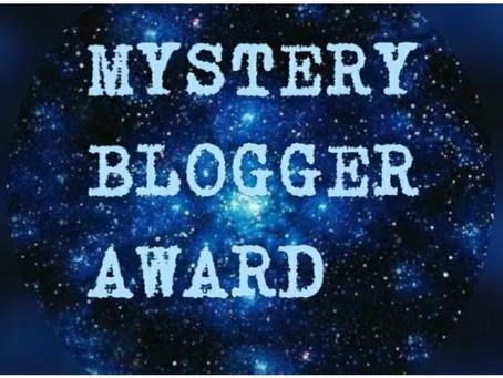 Mystery Blogger Award Nomination