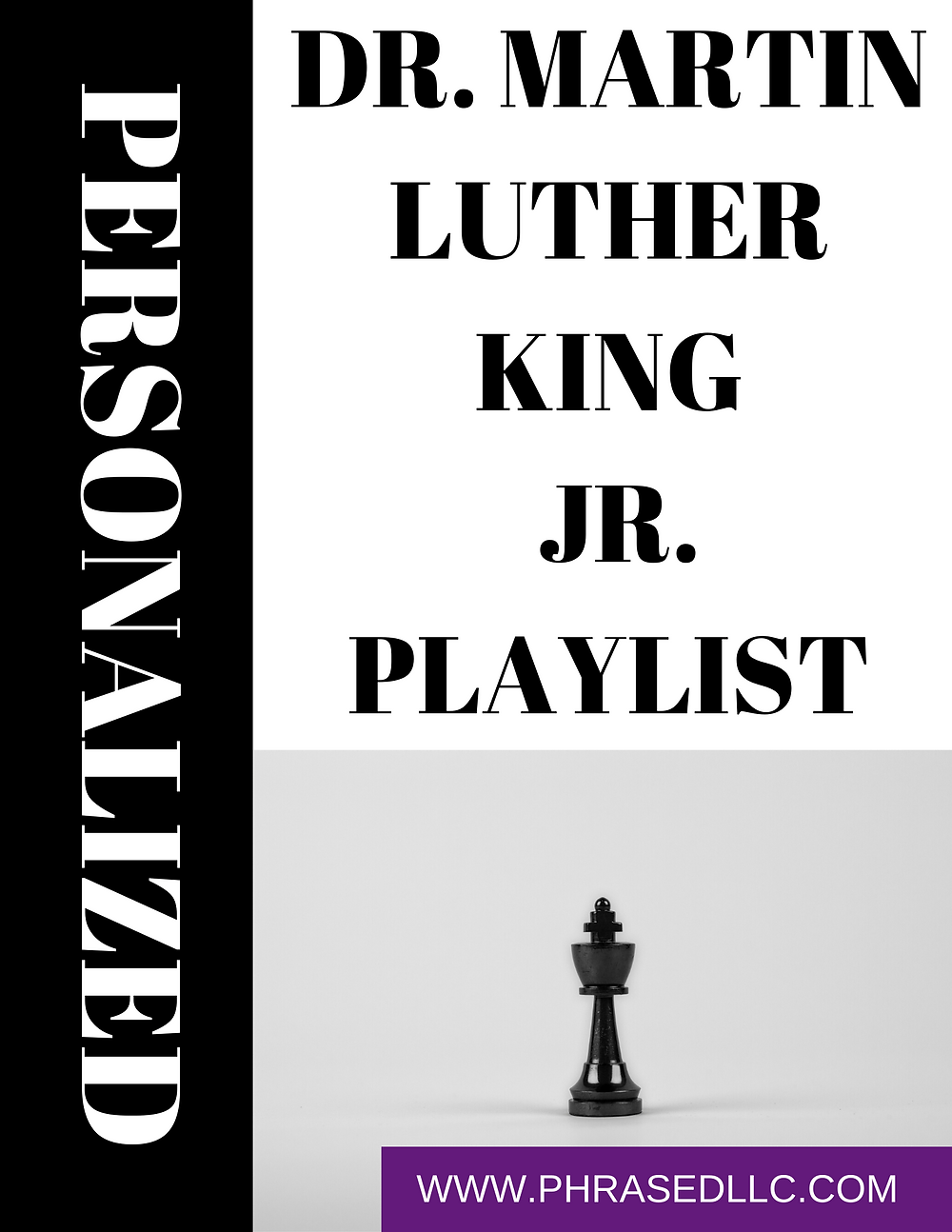 Martin Luther King bio, facts, quotes, advocacy and work in the civil rights movement with personalized activities for students.