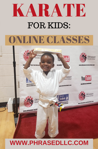 Karate for kids is perfect while we shelter in place. It allows you to having fun and getting fit. Online and virtual classes available.