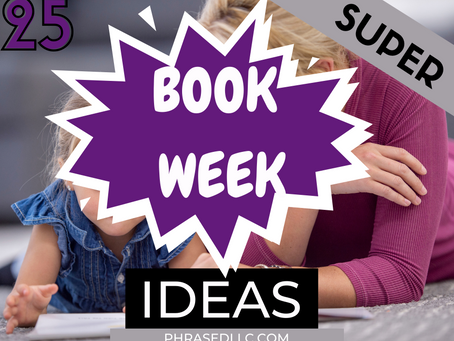 25 Super Activities to Make This Children's Book Week The Best One Ever