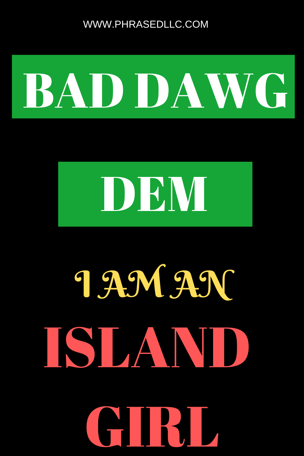 Learn about Kingston and the people of Jamaica in the I am an Island Girl series. Learn about culture, values, beliefs and cultural words in Bad Dawg Dem.