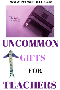 Uncommon gifts for teachers can be handmade, diy, personalized, easy and cheap. Look at these options to find some of the best teacher gift that they really want.