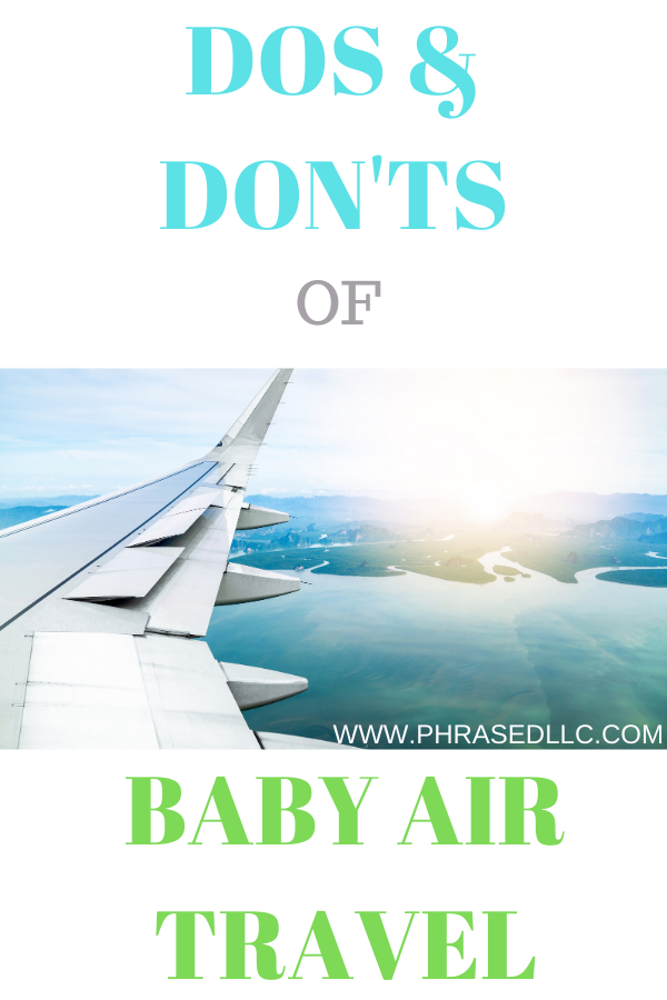 Tips to help with international baby travel like books, toys and outfits.