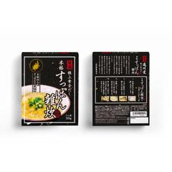 遠州堂 本格すっぽん雑炊スープ 箱デザイン