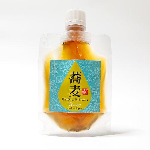 日本の蜂蜜シリーズ【蕎麦】100gパウチタイプ