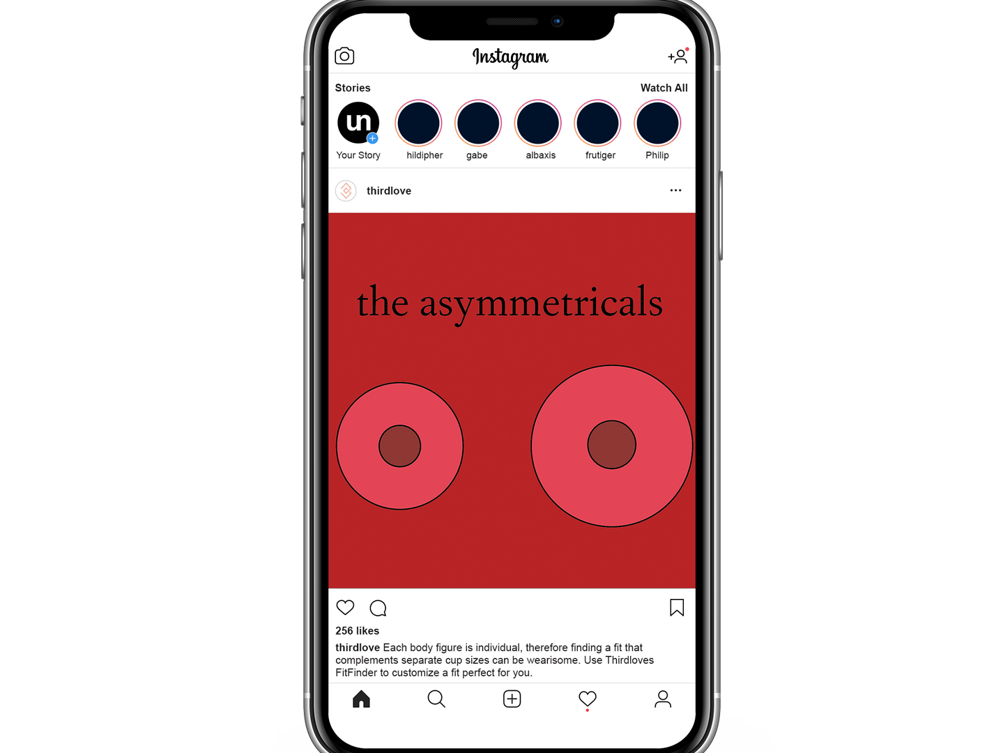 the asymmetrical