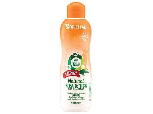 Tropiclean Flea Shampoo 592ml