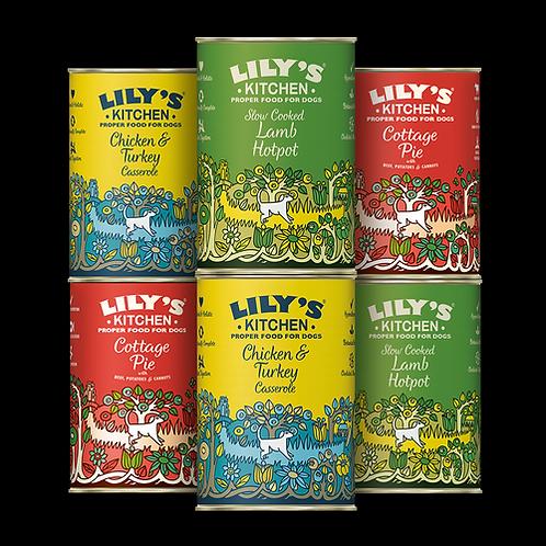 Lilys Kitchen Multipack Tins