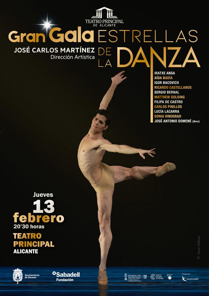 Gala de Estrellas Danza en Alicante dirigida por José Carlos Martínez