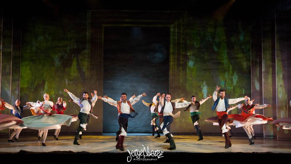 """El Ballet """"Sorolla"""" arrasa en los Teatros del Canal"""