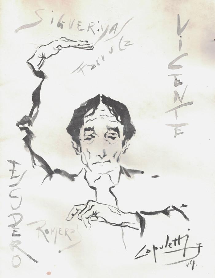 Vicente Escudero en los poemas
