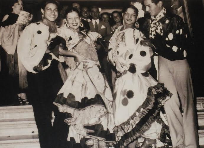 ANTONIO, ROSARIO Y CARMEN AMAYA CON SU HERMANO EN ARGENTINA.jpg
