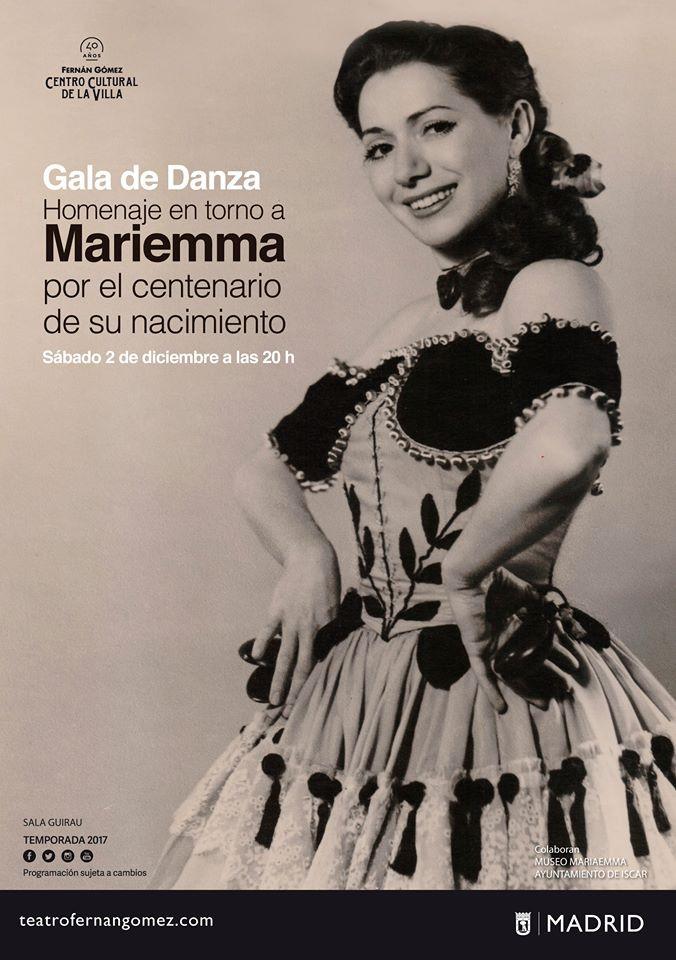 Homenaje a Mariemma en el Teatro Fernán Gómez