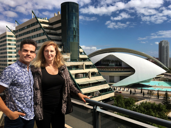 Entrevista a Antonio Najarro desde el Palau de Les Arts
