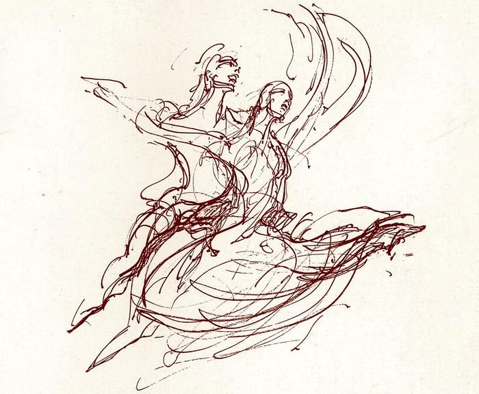 El Ballet Clásico de Eva Borg (2). Eva Borg y Peter Van Dyk: bailando entre las ruinas