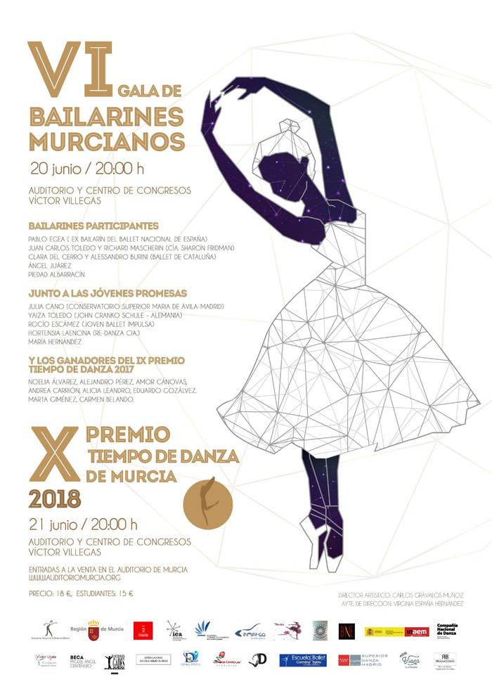 Décima Edición del Premio Tiempo de Danza en Murcia