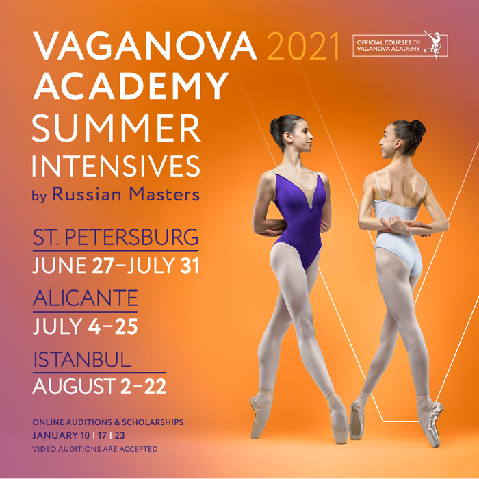 Vaganova Academy Summer Intensives by Russian Masters