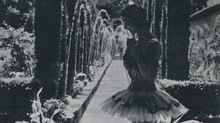Margot Fonteyn en el Generalife