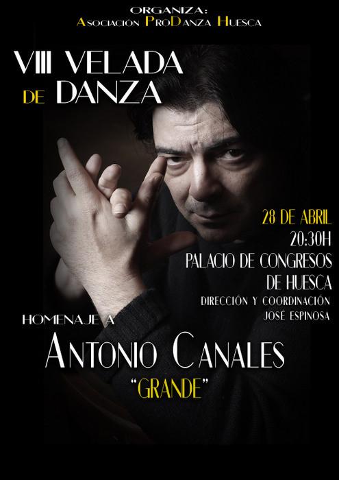 Gala 2018 ProDanza de Huesca. Homenaje a Antonio Canales
