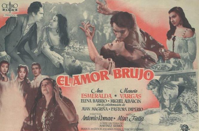 """Cine de Danza: """"El Amor Brujo"""" de 1949 (Vídeo)"""