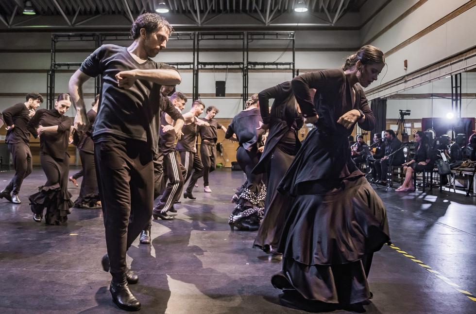 """El Ballet Nacional de España en """"Movimiento perpetuo"""""""