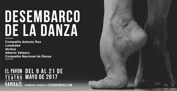 Desembarco de la Danza en el Teatro Pavón Kamikaze