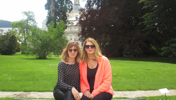 Entrevista a Pilar Villanueva en La Granja de San Ildefonso