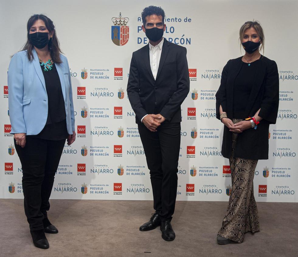 La Alcaldesa de Pozuelo anuncia que el Ballet de Antonio Najarro será Compañía Residente