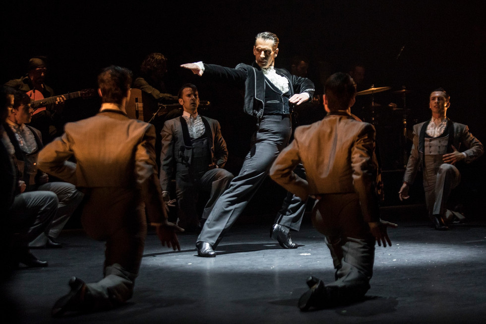 Primera representación del Ballet Nacional de España de 'Invocación' en 2021