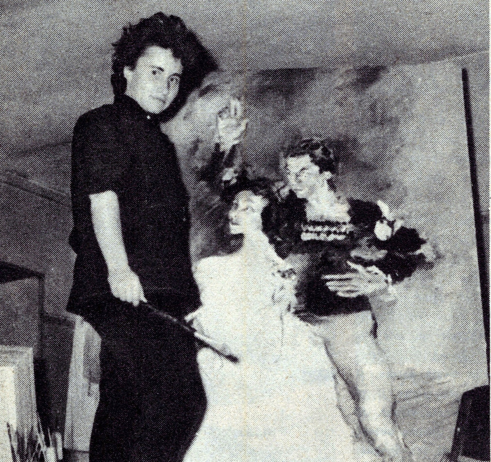 Serge Lifar y Monique Lancelot, la pintora de la Ópera de París