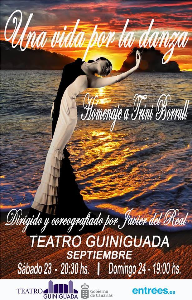 """""""Una vida por la Danza"""" Homenaje a Trini Borull"""