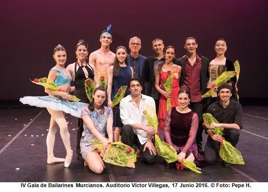 La IV Gala Bailarines Murcianos homenajea a Antonio Gades