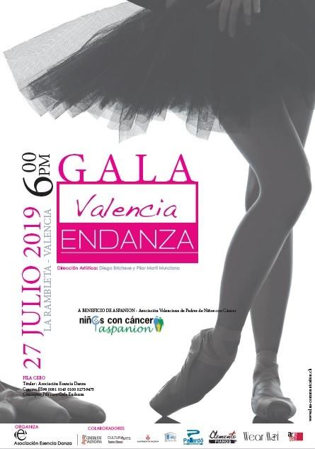 Próxima Gala de Valencia Endanza
