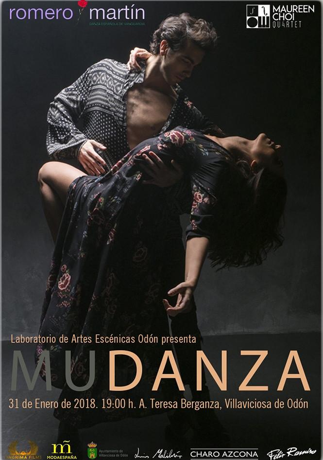 Se estrena MuDanza, un espectáculo de Tania Martín y Carlos Romero