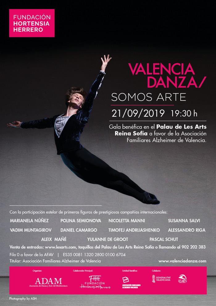 6ª Gala de Valencia Somos Arte. Programa