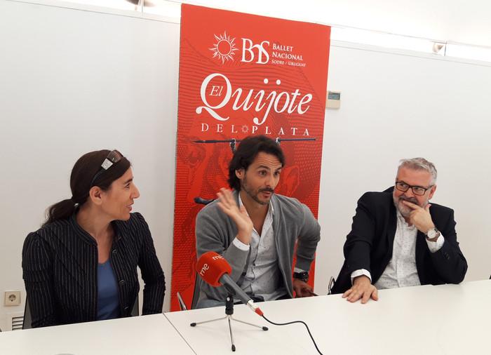"""La gira española de """"El Quijote del Plata"""". Ballet Nacional Sodre"""