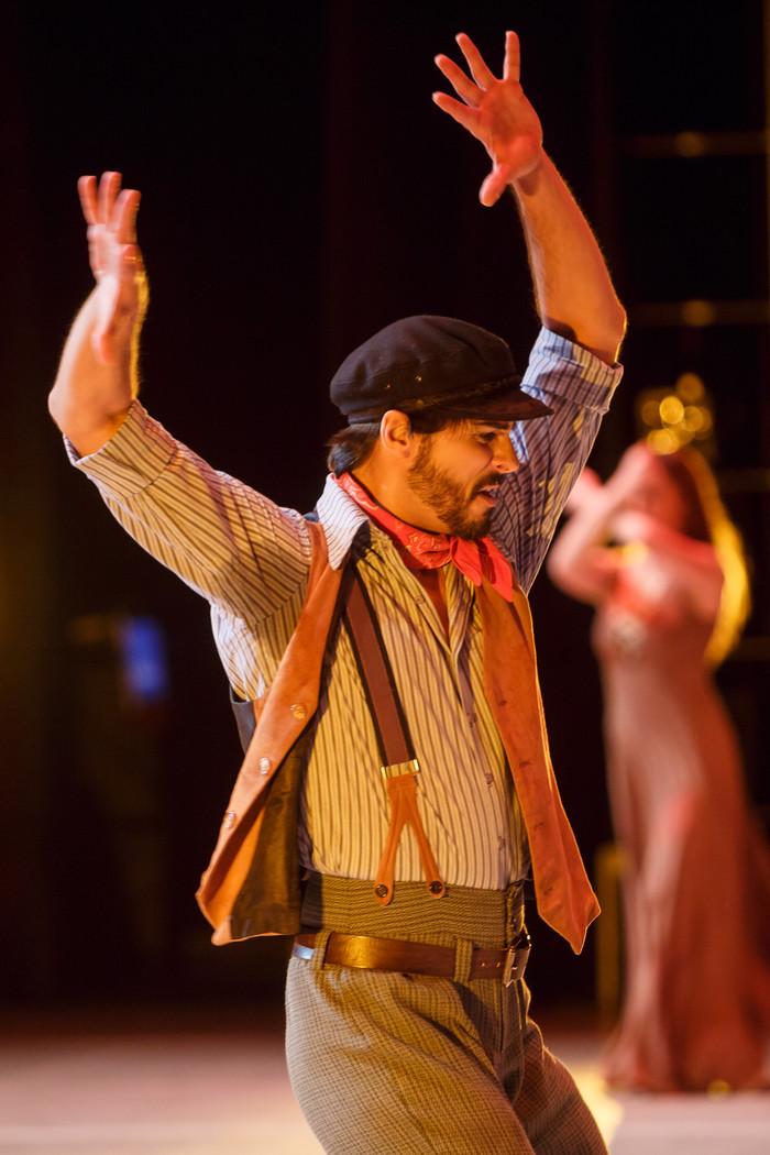 Igor Yebra en Zorba el Griego
