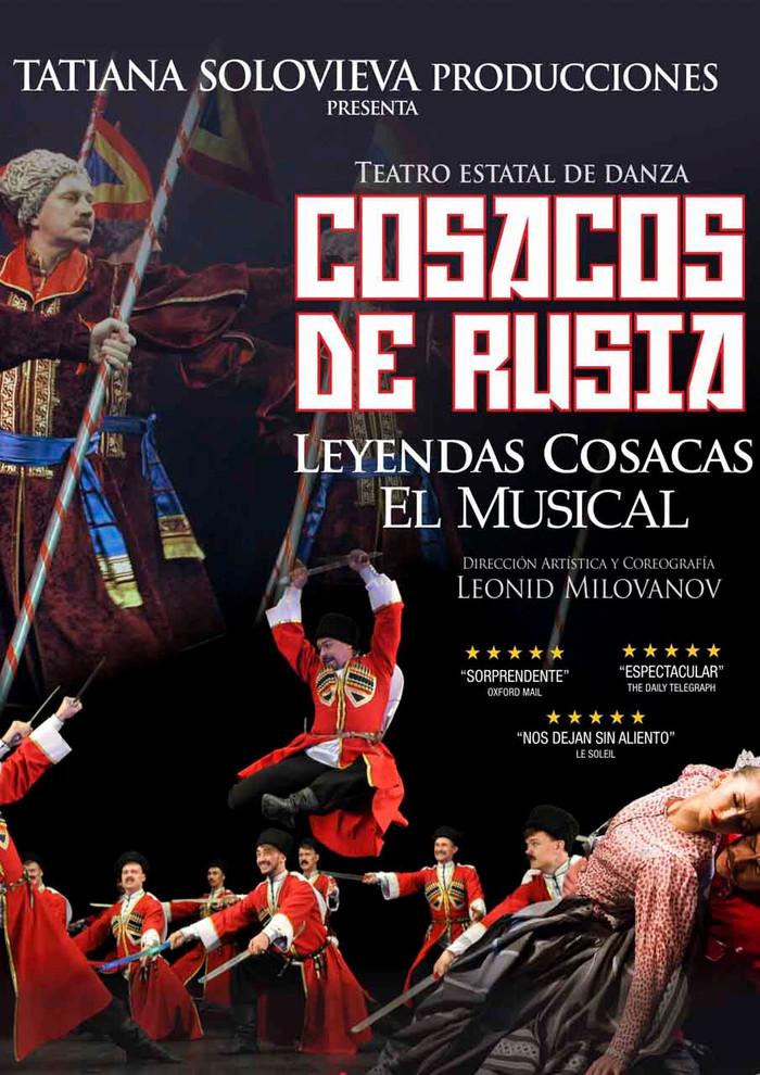 Las danzas cosacas de gira por España