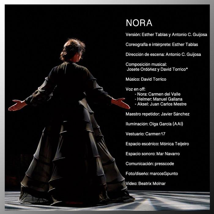 """Esther Tablas será """"Nora"""""""
