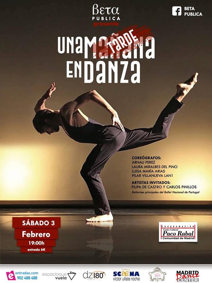 """""""Una tarde de Danza"""" con Carlos Pinillos y  Filipa de Castro"""
