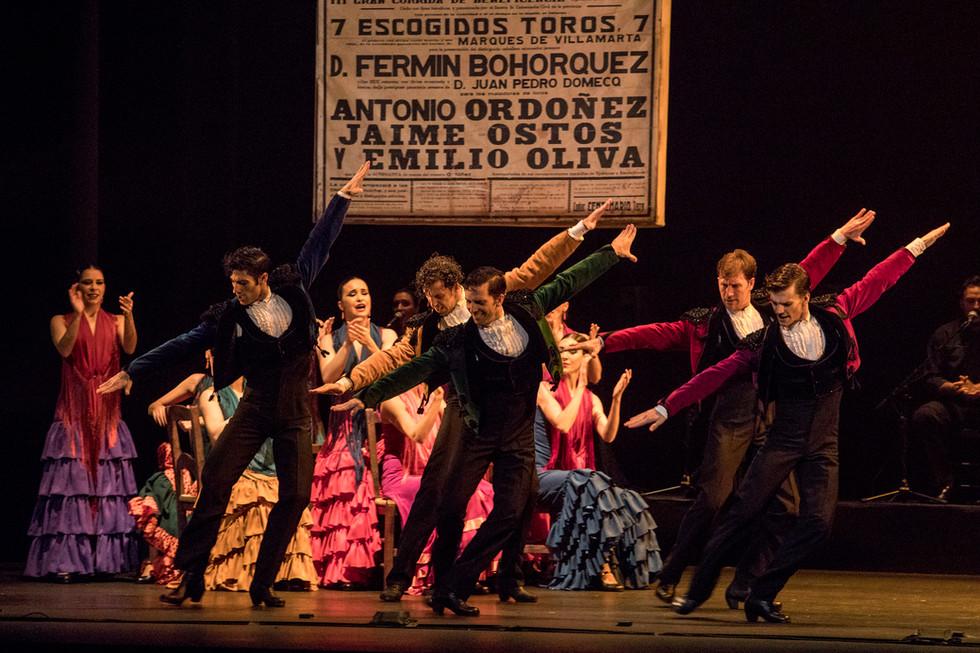 El Ballet Nacional de España viaja a Zaragoza y Pamplona