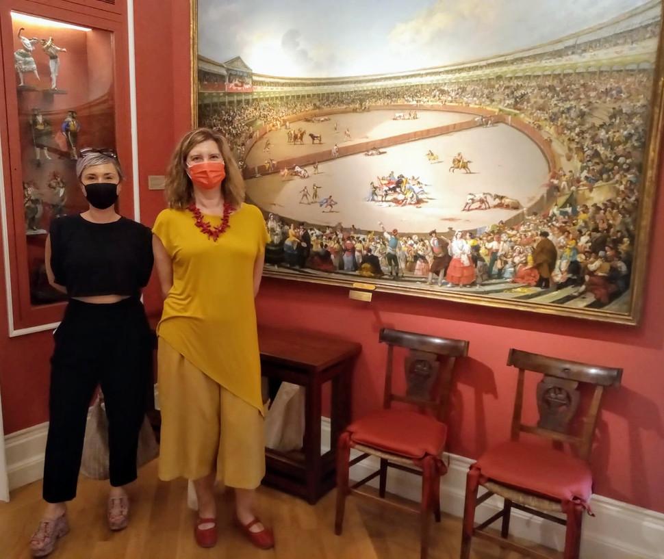 Entrevista a Yaiza Pinillos en el Museo del Romanticismo