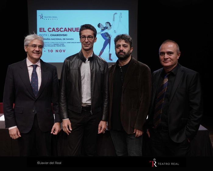 Se presenta El Cascanueces en el Teatro Real
