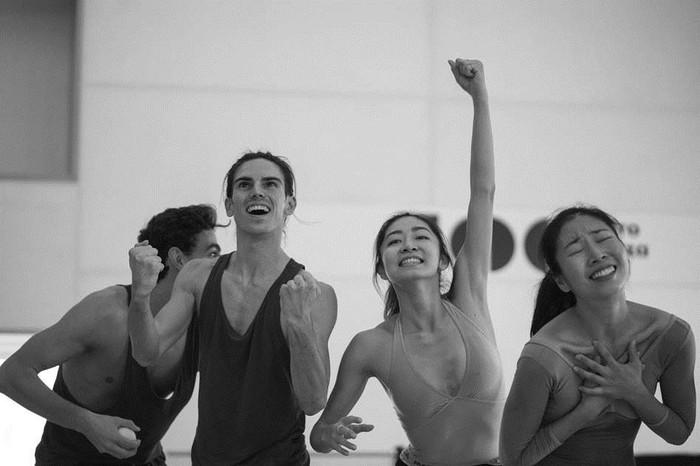 Los bailarines del Víctor Ullate Ballet –Comunidad de Madrid estrenan dos coreografías de Kor´sia y