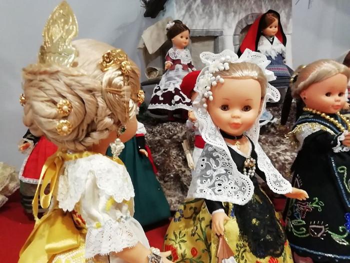 Bendición e inauguración del Belén de Nancys en el Museo Mariemma