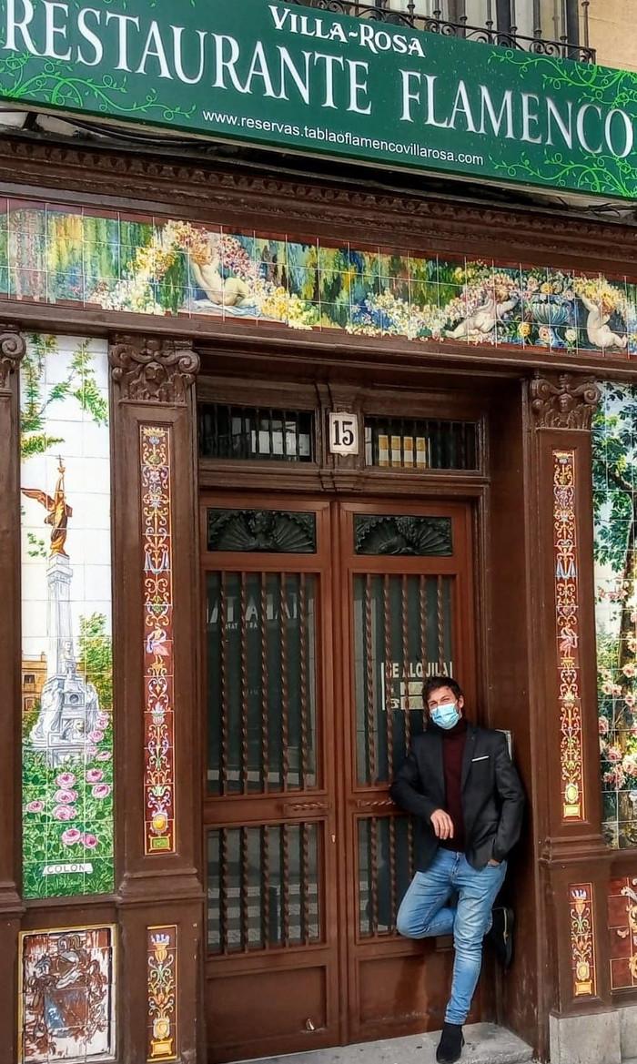 Entrevista a Jonatan Miró cerrando las puertas del Villa Rosa
