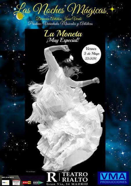 Fuensanta La Moneta llega a Madrid tras su triunfo en el Festival de Jerez